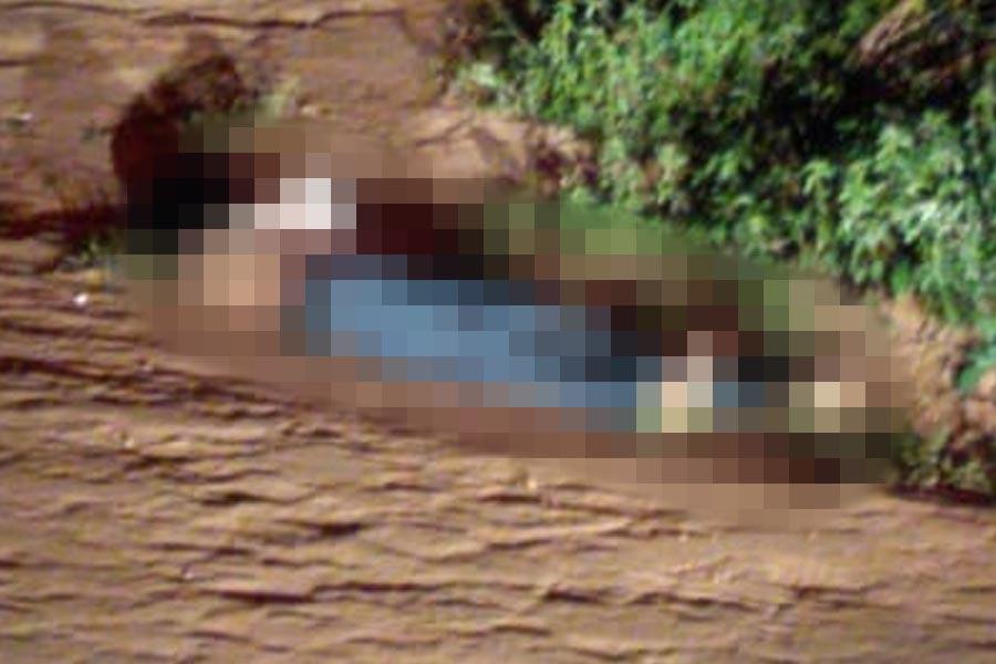 Corpo foi encontrado em rua deserta do setor Rosa dos Ventos | Foto: Leitor/FZ