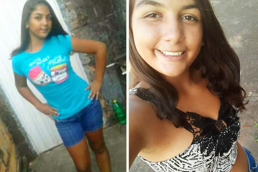 Menina de 14 anos está desaparecida desde as 13h da última 2ª feira (4) em Aparecida | Foto: Arquivo Pessoal
