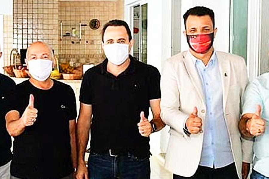 Professor Alcides, Veter Martins e Daniel Rodrigues em encontro no sábado (25) | Foto: Reprodução/Instagram