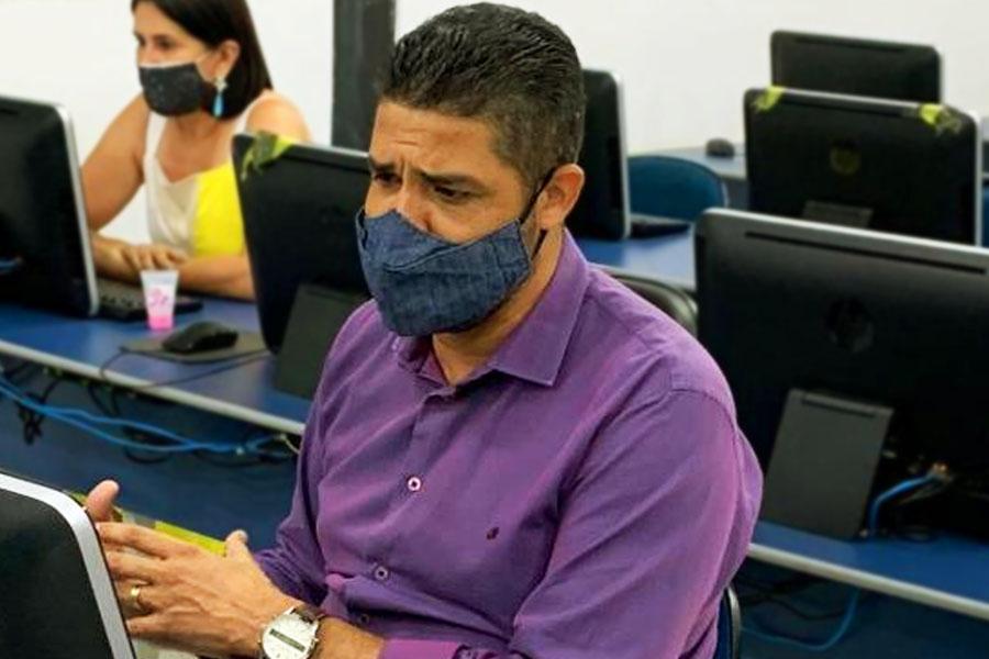 Professor Divino Gustavo | Foto: Divulgação/Secom