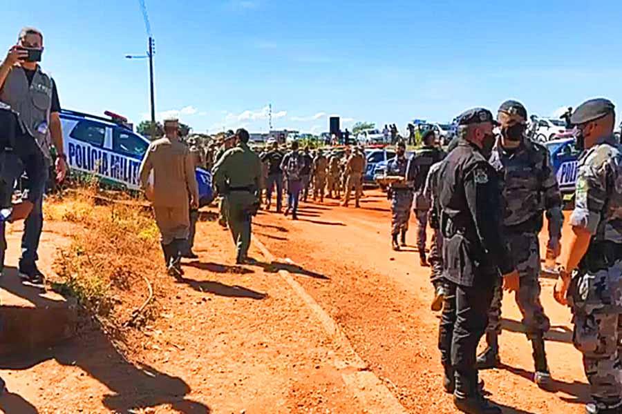Agentes da Força Nacional serão destacados para se unirem às centenas de policiais que já buscam Lázaro Barbosa | Foto: Reprodução