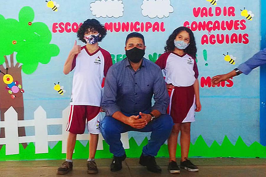 Professor Divino, secretário de Educação de Aparecida   Foto: Divulgação / Secom