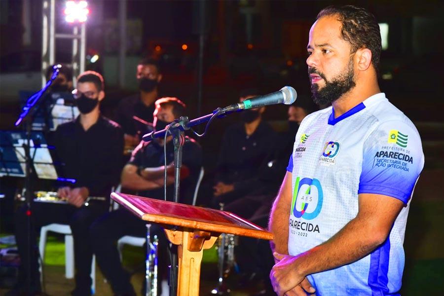 Secretário de Ação Integrada e um dos responsáveis pelas atividades relacionadas às comemorações do centenário, Vanilson Bueno | Foto: Rodrigo Estrela